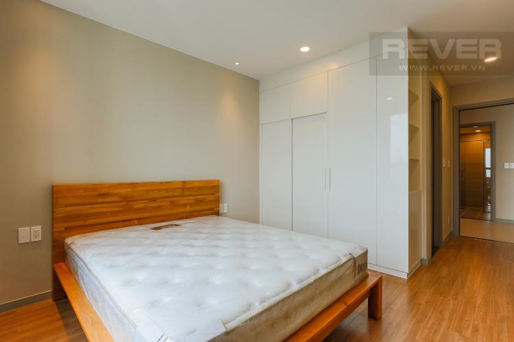 Phòng Ngủ 1 Căn hộ The Gold View 2 phòng ngủ tầng cao tháp A view sông