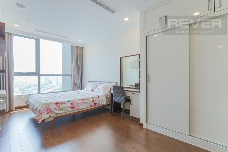 Phòng Ngủ 2 Bán căn hộ Vinhomes Central Park 2PN, tầng cao, nội thất đầy đủ, view sông thoáng mát