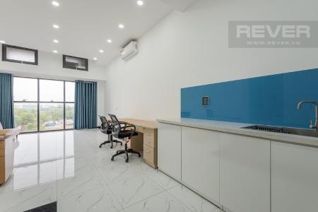 Bán hoặc cho thuê officetel The Sun Avenue 1PN, tầng 3, nội thất văn phòng, ban công Đông Bắc