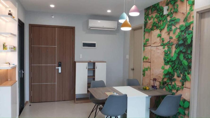 Căn hộ New City Thủ Thiêm tầng trung đầy đủ nội thất, 2 phòng ngủ.