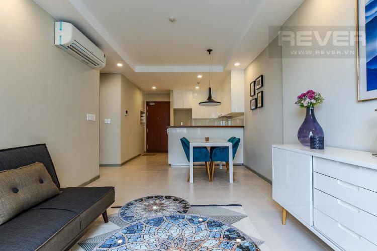 Phòng Khách Căn hộ The Gold View, tầng cao, 2 phòng ngủ, hướng nhà Đông Bắc, đầy đủ nội thất