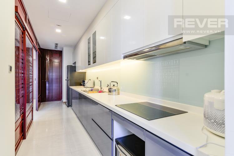 Nhà Bếp Căn hộ Vinhomes Central Park 3 phòng ngủ tầng cao P3 đầy đủ tiện nghi