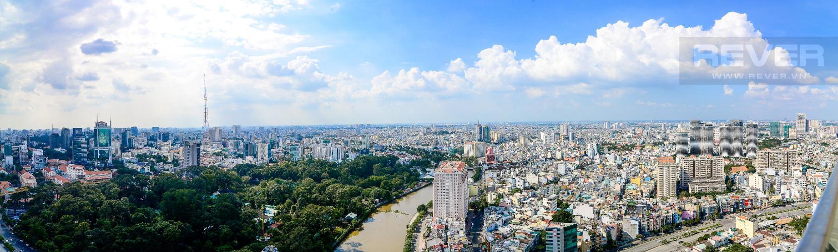 c Bán căn hộ Vinhomes Golden River 3PN, tầng cao, tháp The Aqua 1, diện tích 109m2, đầy đủ nội thất, view thành phố