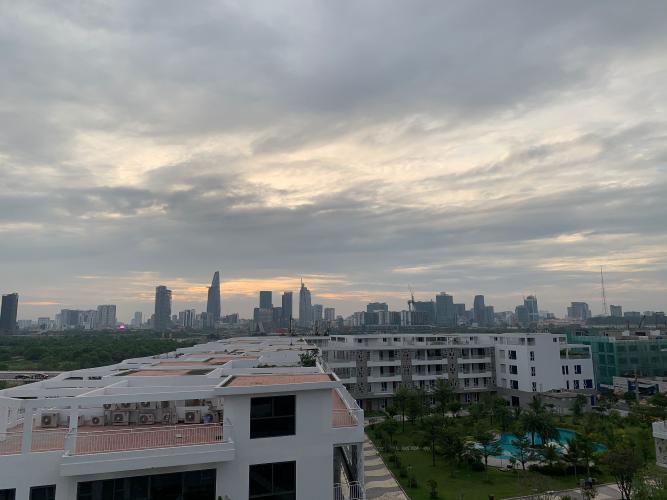 view cảnh căn hộ Lakeview Căn hộ Thủ Thiêm Lakeview đầy đủ nội thất, view thành phố.