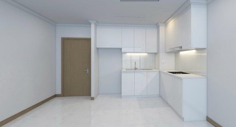 Phòng bếp Sunwah Pearl, Bình Thạnh Căn hộ Sunwah Pearl tầng trung, ban công hướng Đông Nam.
