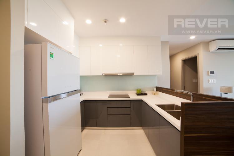 Nhà bếp Căn hộ The Gold View 2 phòng ngủ tầng thấp tháp B nội thất đầy đủ