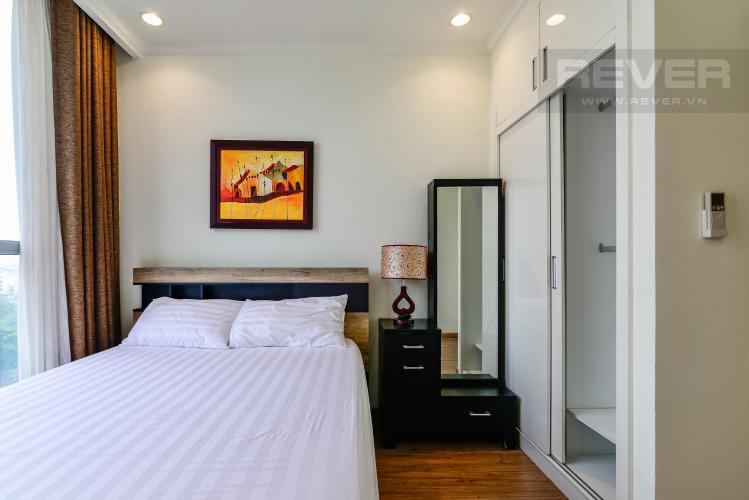 Phòng Ngủ 2 Căn hộ Vinhomes Central Park 2PN đầy đủ nội thất, có thể dọn vào ở ngay