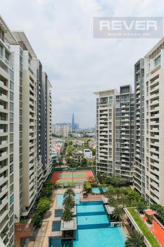View Cho thuê căn hộ The Estella Residence 3PN nội thất đầy đủ, view tiện ích nội khu đẹp