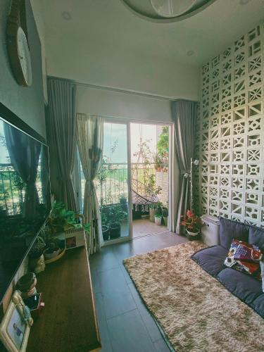 Phòng khách Ehome S Nam Sài Gòn, Bình Chánh Căn hộ Ehome S Nam Sài Gòn tầng trung, bàn giao đầy đủ nội thất.