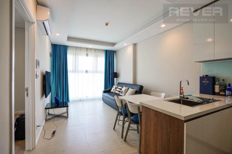 Bán officetel Diamond Island tầng trung, diện tích 46m2 - 1 phòng ngủ, nội thất cơ bản
