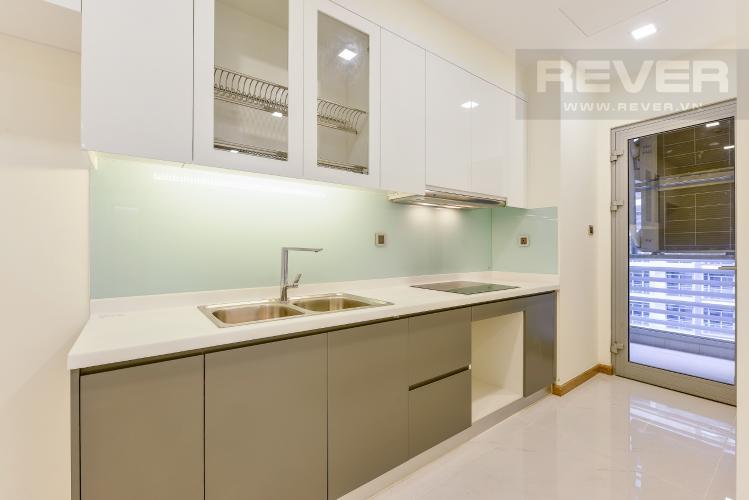 Bếp Căn hộ Vinhomes Central Park 2 phòng ngủ Park 2 nội thất cơ bản