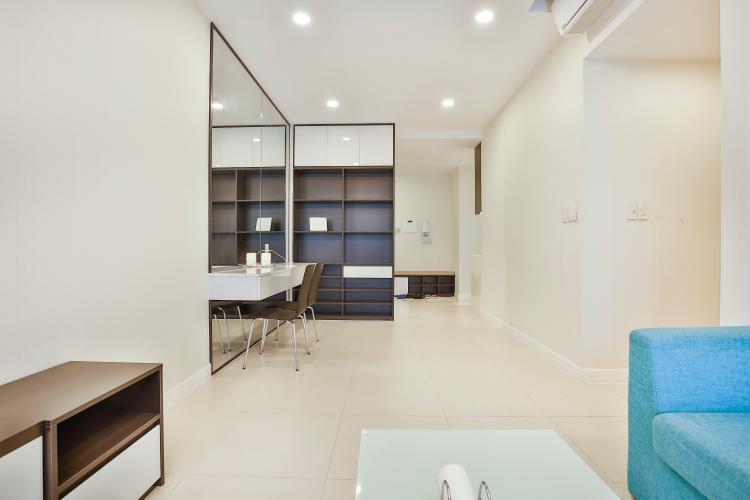 Phòng Khách Cho thuê căn hộ Lexington Residence 3PN, tầng trung LA nội thất đầy đủ