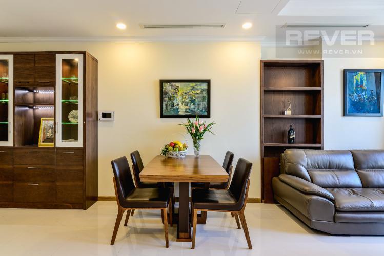 Phòng Ăn Căn hộ Vinhomes Central Park 2 phòng ngủ tầng cao L6 nội thất đầy đủ