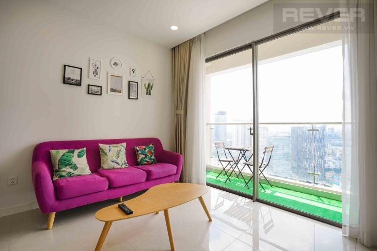 Cho thuê căn hộ Masteri Millennium 2PN, tầng 29, view Bitexco