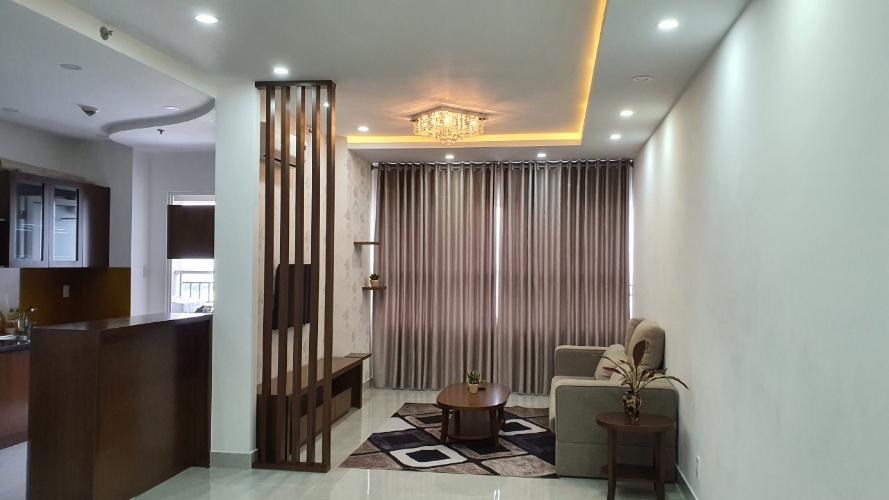 Phòng khách căn hộ Sunrise City Căn hộ Sunrise City nội thất đầy đủ tiện nghi, thiết kế hiện đại.