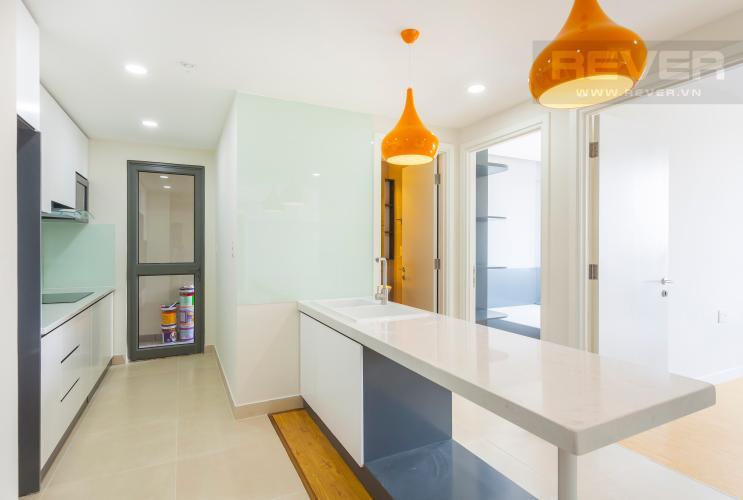 Bàn bếp Căn hộ Masteri Thảo Điền tầng cao T4B 3 phòng ngủ, nội thất tinh tế