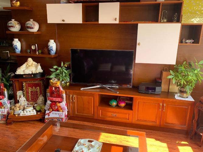 Nội thất căn hộ 3PN Tropic Garden Căn hộ Tropic Garden tầng trung, ban công hướng Tây Bắc.