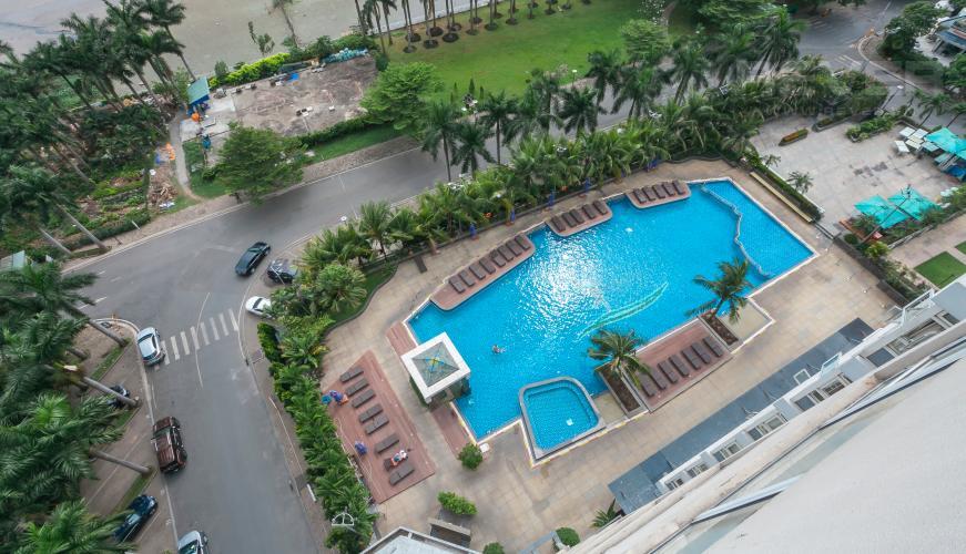 View Căn góc Saigon Pearl 3 phòng ngủ tầng thấp Ruby 1