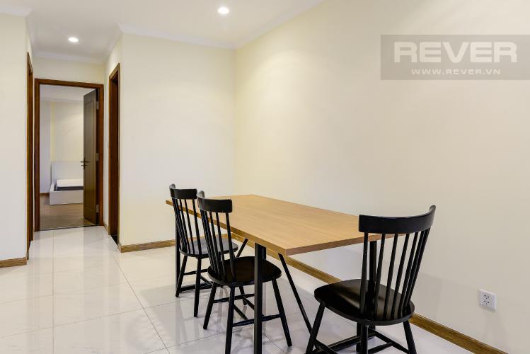 Phòng Ăn Căn hộ Vinhomes Central Park 4PN đầy đủ nội thất, view sông Sài Gòn