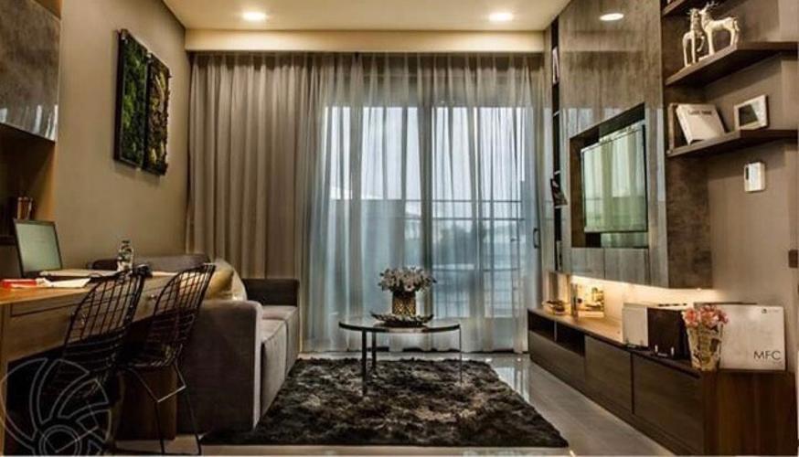 Căn hộ Kingdom 101 đầy đủ nội thất, thiết kế hiện đại.