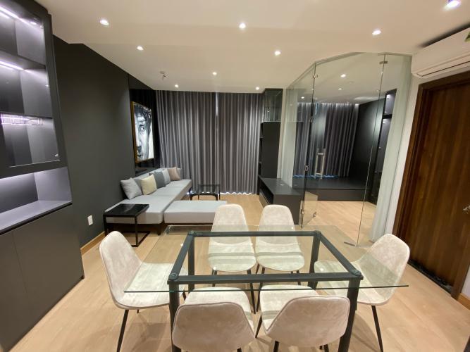Căn hộ Central Premium view thành phố thoáng mát, nội thất đầy đủ.