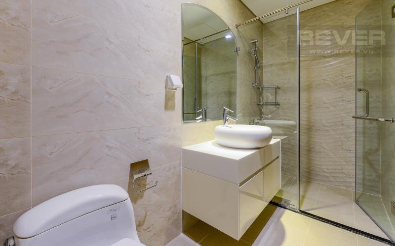 phòng tắm 2 Căn hộ Vinhomes Central Park tầng cao Landmark 3 thiết kế đẹp, view sông