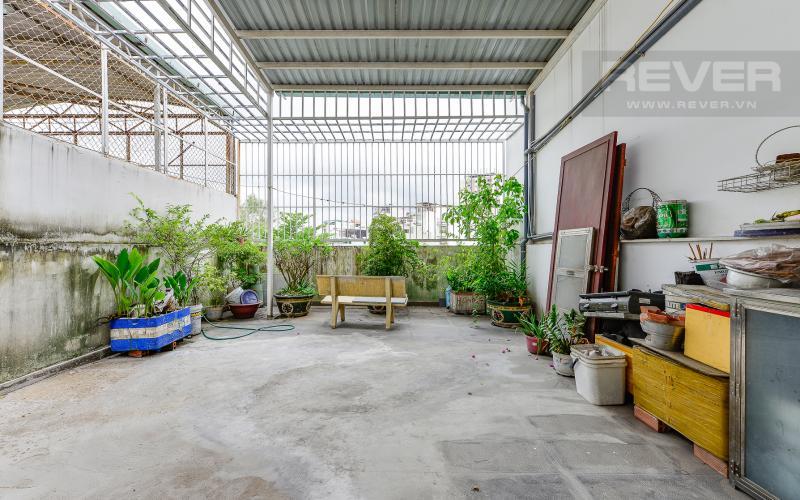 Sân thượng Nhà phố hẻm xe hơi ngay ĐH Hutech Ung Văn Khiêm
