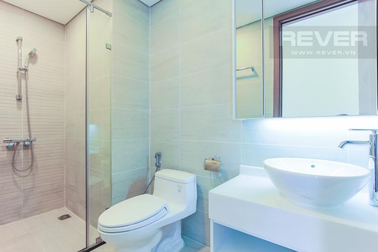 Phòng Tắm 1 Căn hộ Vinhomes Central Park tầng cao Park 6 đầy đủ nội thất, view sông