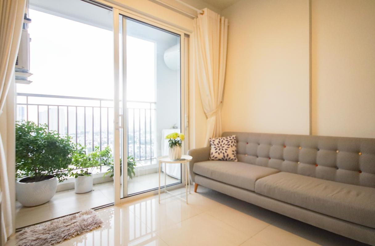 2 Cho thuê căn hộ 2 phòng ngủ Galaxy 9, tầng cao, đầy đủ nội thất, view thành phố thoáng rộng