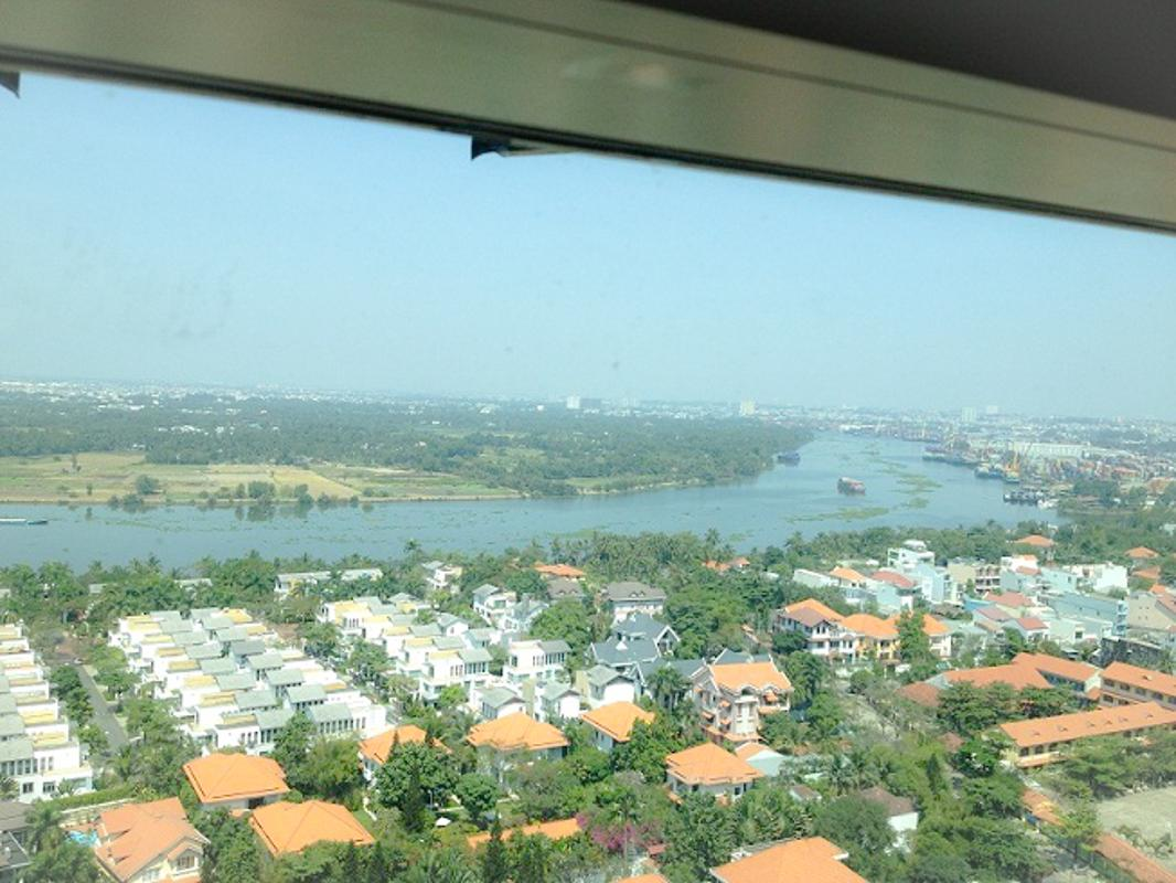 View Sông Bán căn hộ The Vista An Phú 2PN, tháp T4, diện tích 101m2, đầy đủ nội thất, view sông Sài Gòn và bán đảo Thanh Đa