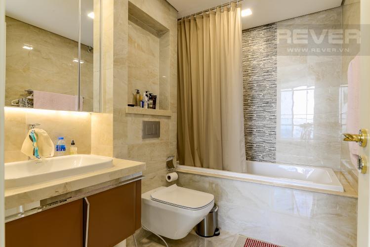 Phòng Tắm 2 Căn hộ Vinhomes Golden River tầng cao, 3PN đầy đủ nội thất