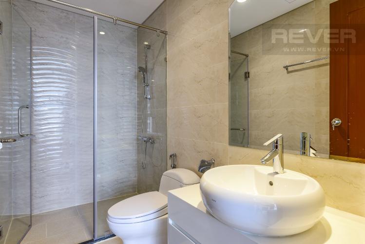 Phòng tắm 1 Căn góc Vinhomes Central Park 2 phòng ngủ tầng trung L3 đầy đủ nội thất