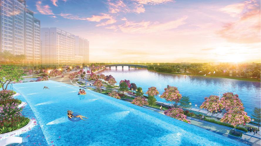 tiện ích căn hộ midtown Căn hộ Phú Mỹ Hưng Midtown nội thất cơ bản, view sông thoáng mát.