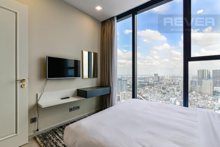 Phòng Ngủ 2 Căn hộ Vinhomes Golden River 2PN tầng cao, view đẹp, đầy đủ nội thất
