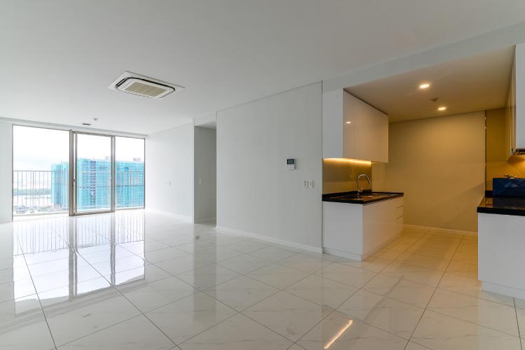 Cho thuê căn hộ Waterina Suites 3PN, nội thất cơ bản, hướng Nam, view sông thoáng mát