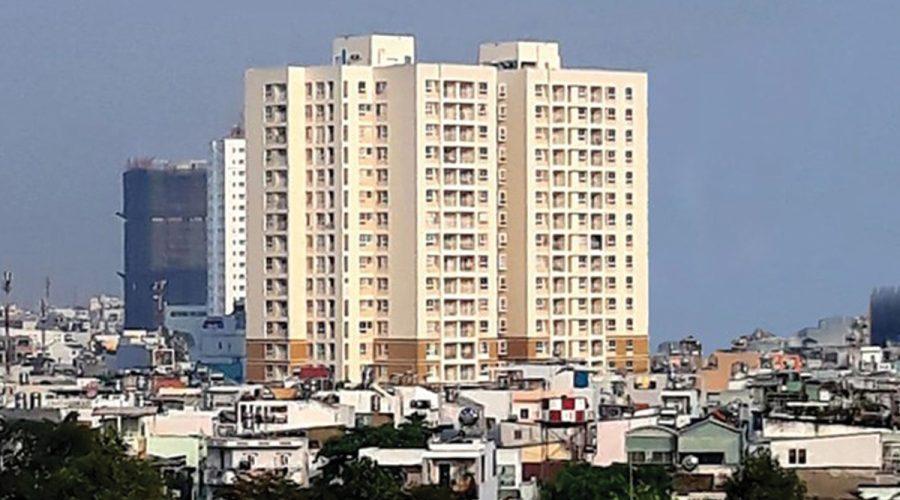 Chung cư Khuông Việt, Tân Phú Căn hộ chung cư Khuông Việt view thành phố, hướng Đông Nam.