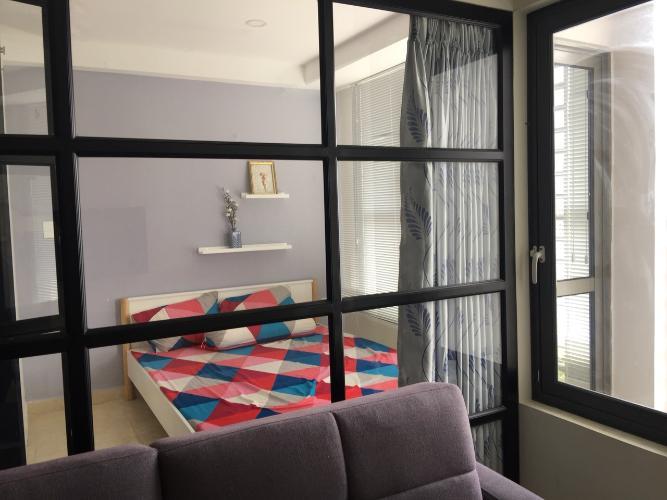 Phòng ngủ căn hộ RiverGate Residence Cho thuê căn hộ RiverGate Residence 1PN, tháp A, đầy đủ nội thất, view thoáng