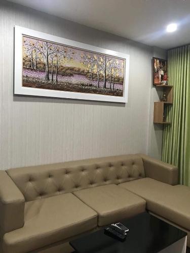 phòng khách căn hộ city gate Căn hộ City Gate tầng cao, bàn giao nội thất đầy đủ.