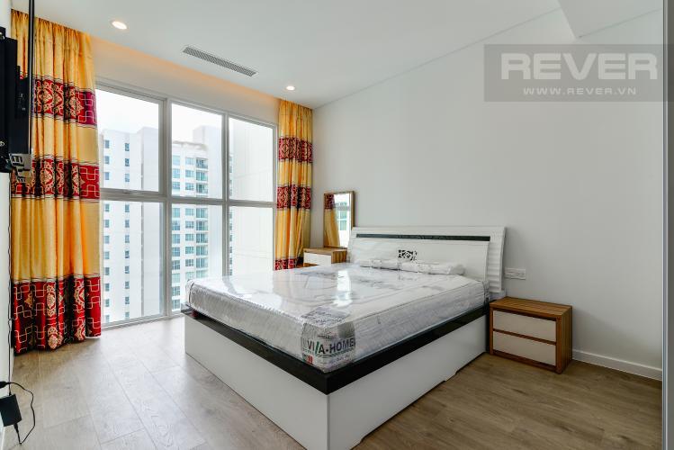 Phòng Ngủ 1 Cho thuê căn hộ Sadora Apartment hướng Đông Bắc 2PN 2WC, view hồ bơi, nội thất cao cấp