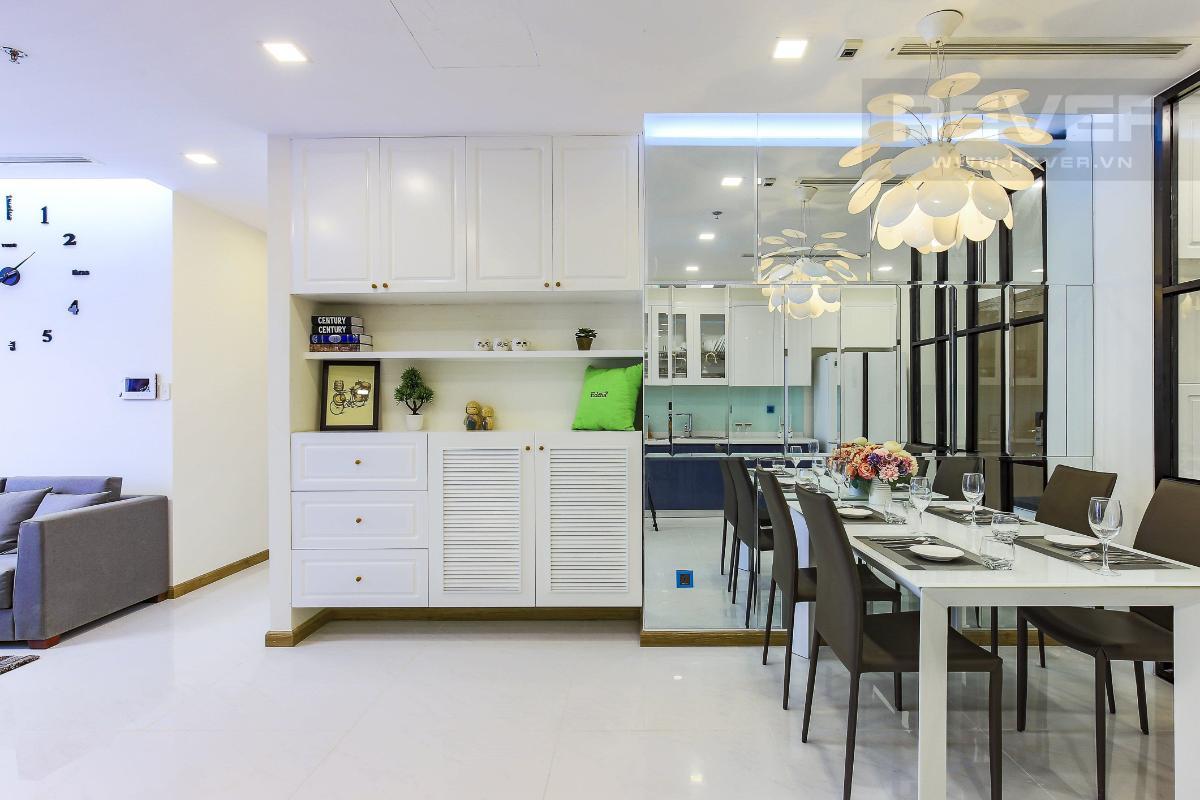a6f49b486e15884bd104 Cho thuê căn hộ Vinhomes Central Park 2 phòng ngủ, tháp Park 4, đầy đủ nội thất, hướng Tây