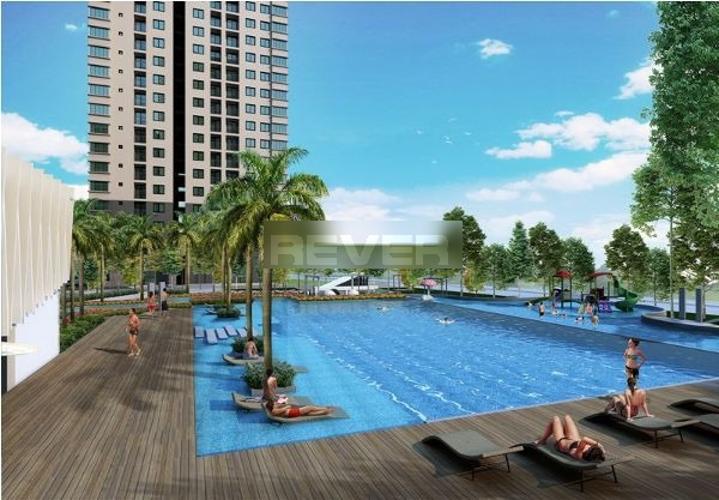 Hồ bơi Saigon South Residence Căn hộ Saigon South Residence ban công hướng Đông, nội thất đầy đủ.