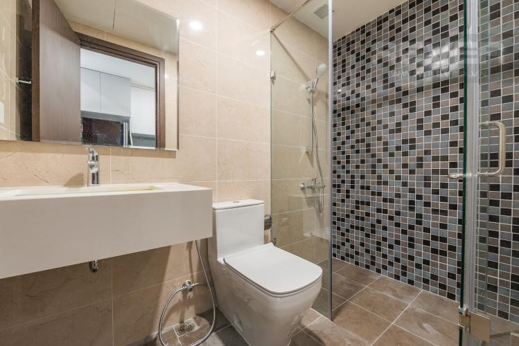 Phòng tắm Căn hộ The Tresor 1 phòng ngủ tầng thấp TS1 nội thất đầy đủ