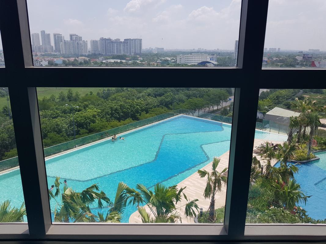 d0b876922727c0799936 Bán căn hộ The Sun Avenue 3PN, block 3, đầy đủ nội thất, view hồ bơi và Landmark 81