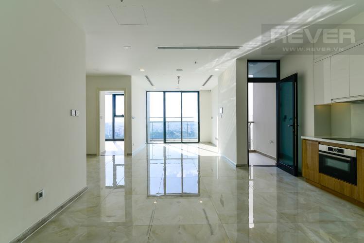 Phòng Khách Bán căn hộ Vinhomes Golden River 3PN, tầng trung, tháp The Luxury 6, view sông Sài Gòn