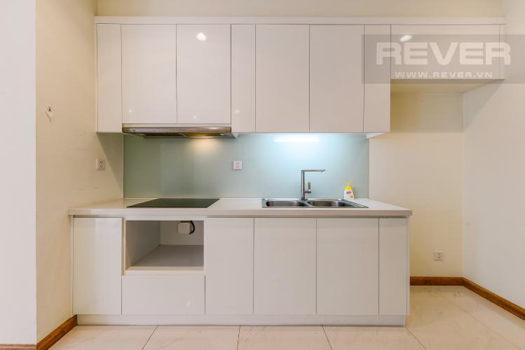 Bếp Officetel Vinhomes Central Park 1 phòng ngủ tầng thấp C3 nhà trống