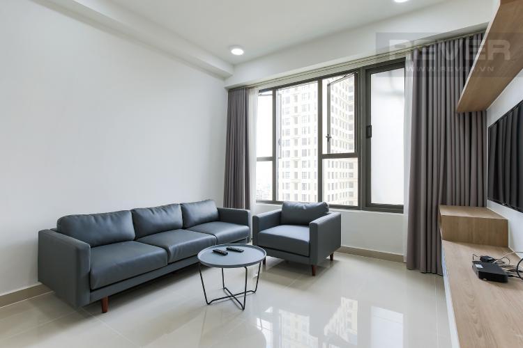 Phòng Khách Căn hộ The Tresor 2 phòng ngủ tầng trung TS1 view nội khu