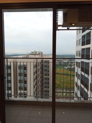 View ban công căn hộ Vinhomes Grand Park Căn hộ Vinhomes Grand Park tầng cao 2 phòng ngủ, view nội khu.
