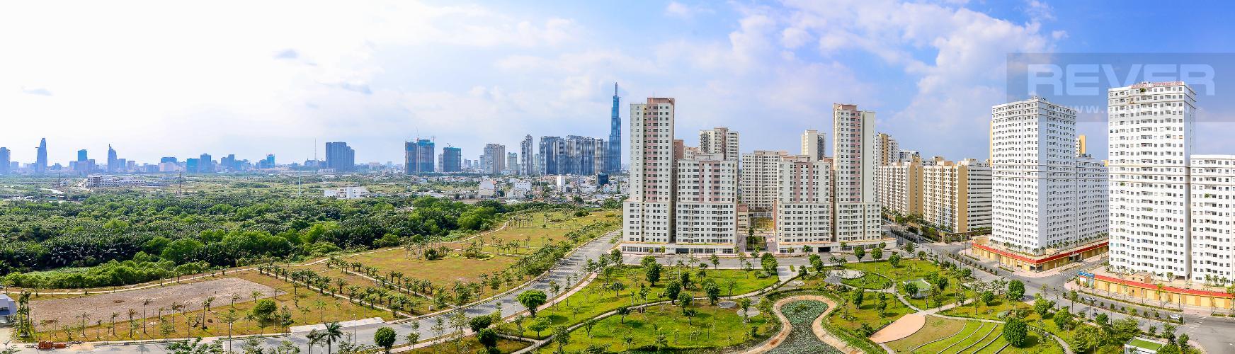 View Cho thuê căn hộ New City Thủ Thiêm 2PN 2WC, hướng Tây Bắc, view công viên