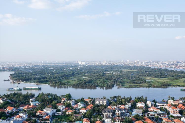 View Căn hộ Masteri Thảo Điền 2 phòng ngủ tầng cao T5 view sông