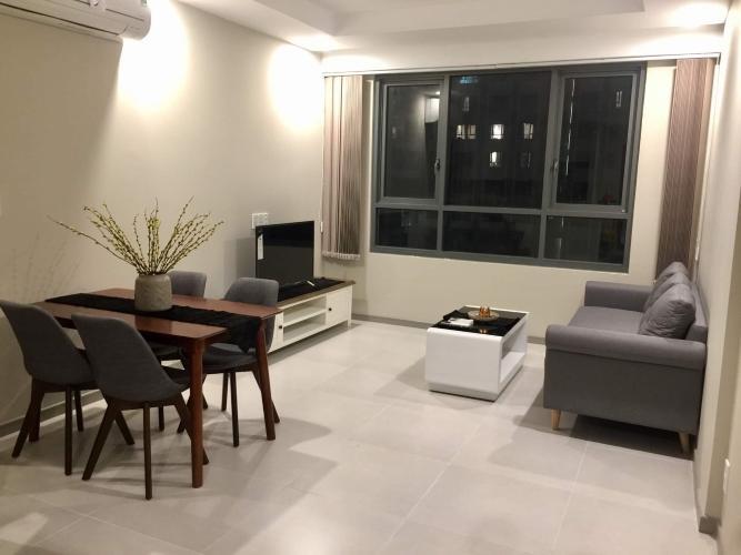 Bán căn hộ The Gold View nội thất cơ bản, hướng Tây Bắc view nội khu.